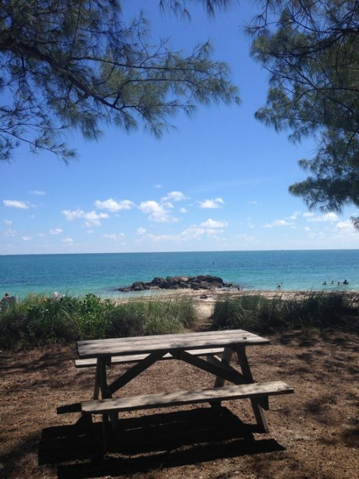 Praia Fort Zachary Taylor Historic State Park