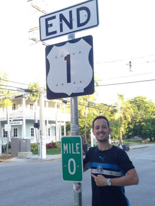 Key West - US 1 Mile Marker