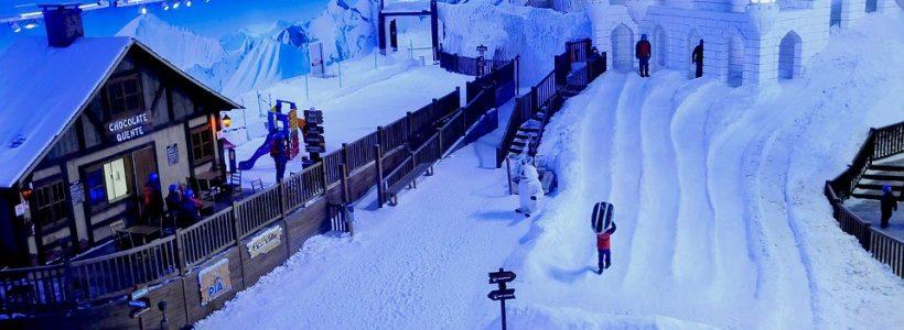 Pista de esqui da Snowland em Gramado