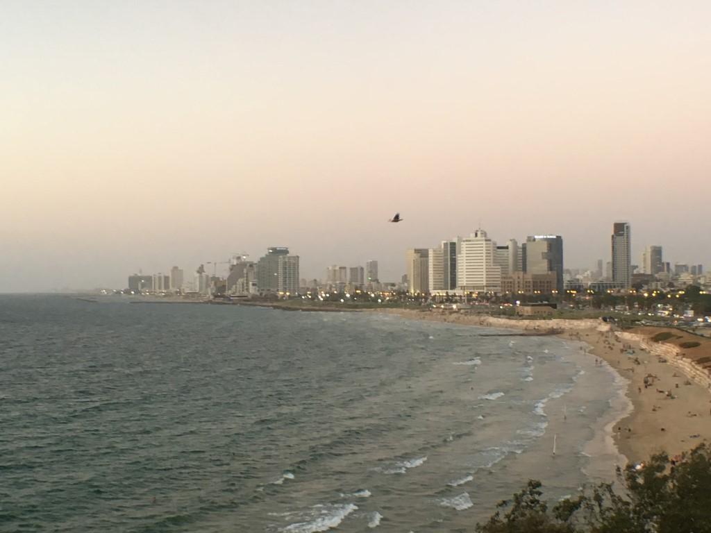 Tel Aviv vista de Jaffa