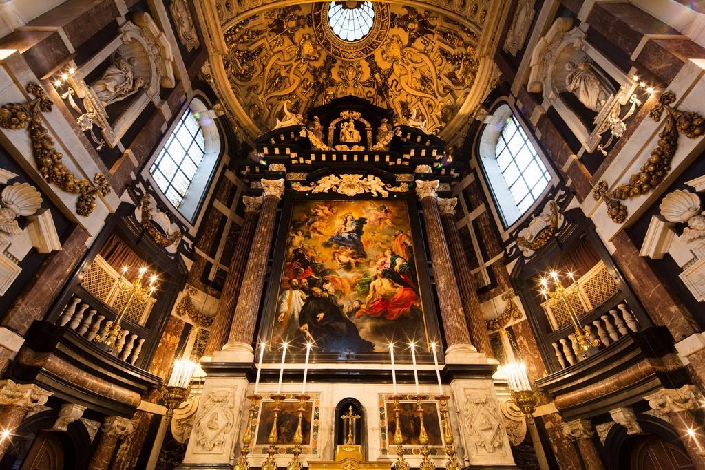 Igreja de St. Charles Borromeo, em Antuérpia, fará parte das atividades em homenagem a Rubens durante o programa Antwerp Baroque 2018
