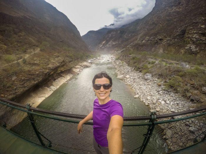 Atravessando o Rio Apurimac