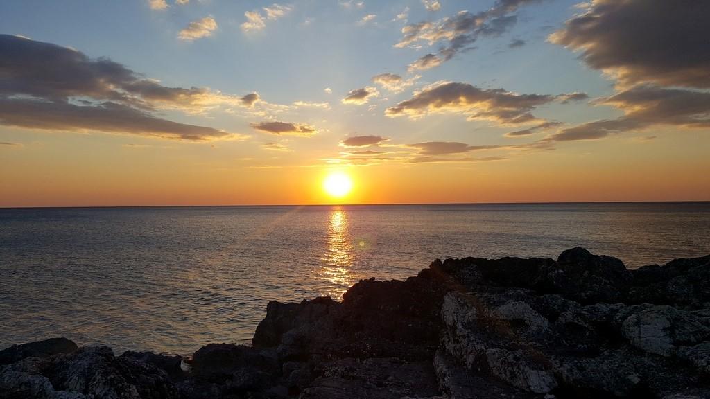 Pôr do sol mais lindo da viagem! Como faz para ficar pra sempre por aqui?