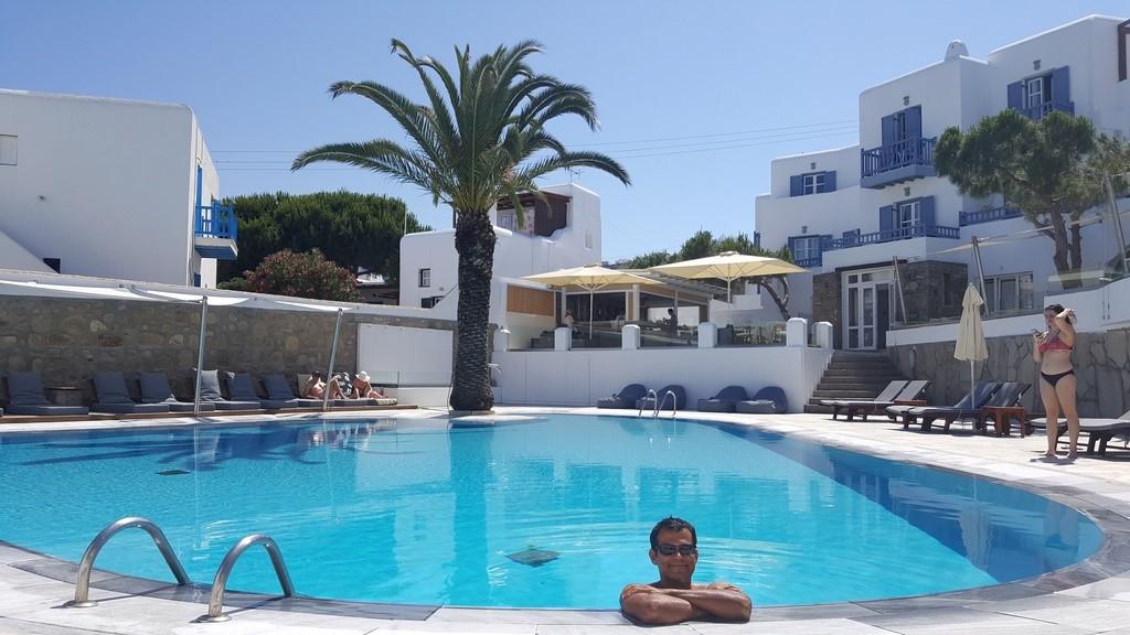 Hotel Poseidon, excelente custo benefício