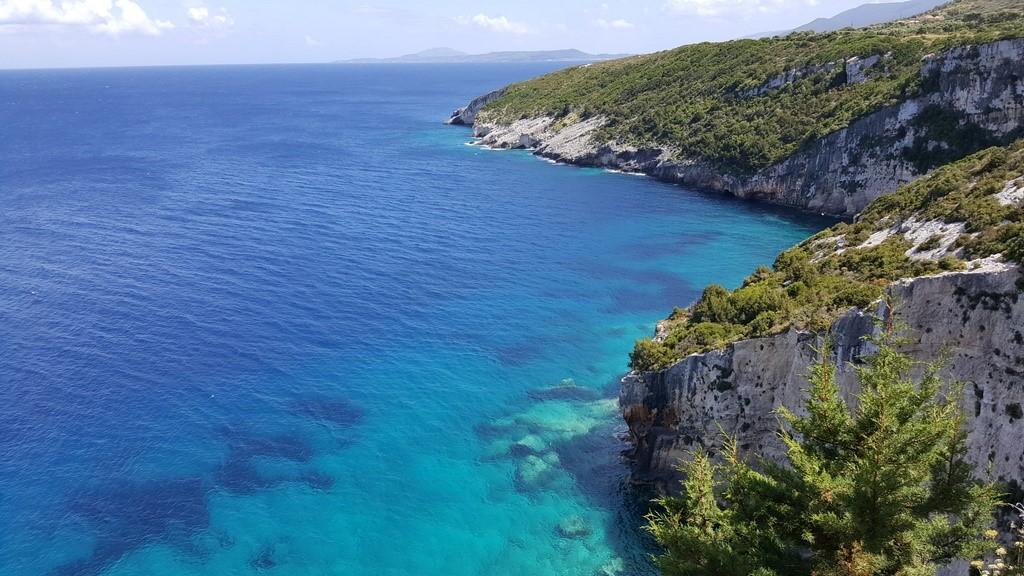 A região do farol tem essa vista linda para o mar
