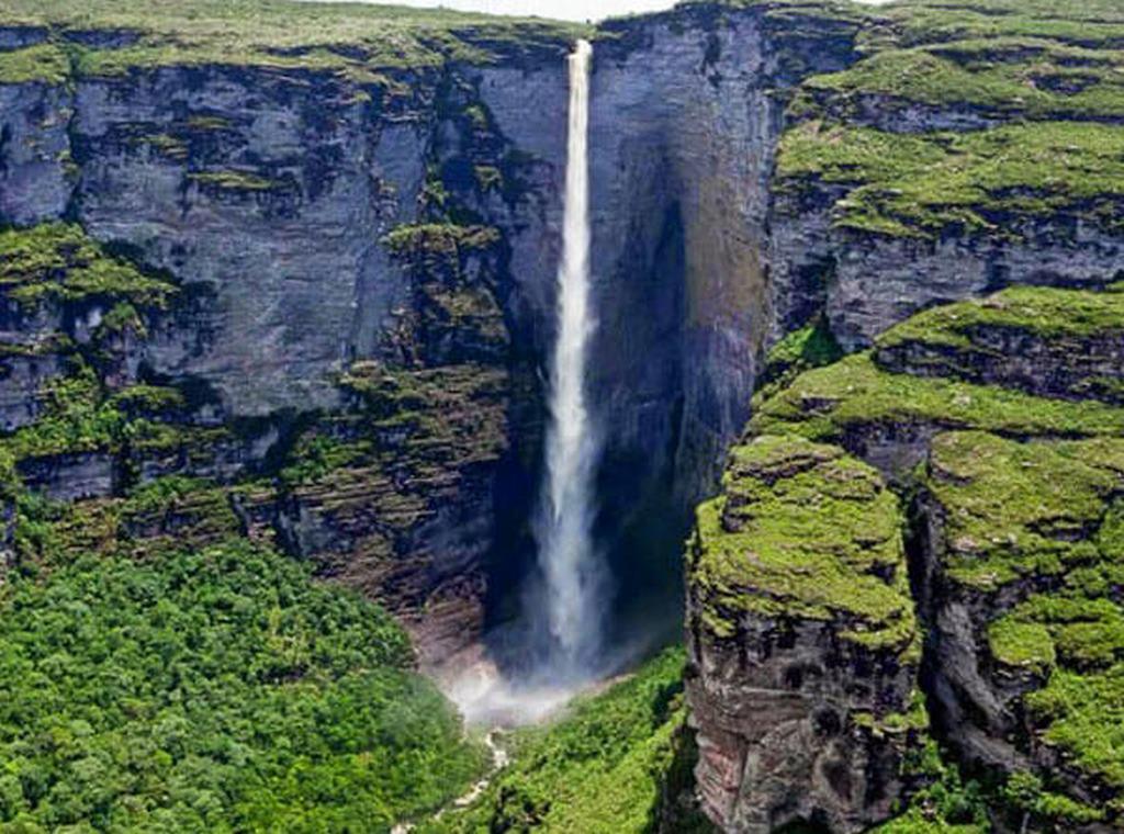 Maiores Cachoeiras do Brasil - Cachoeira da Fumaça