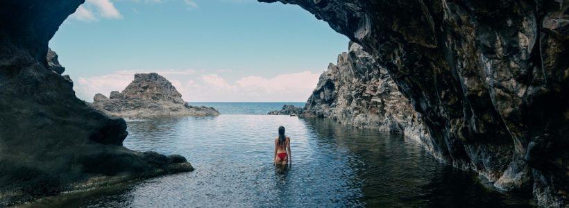 Piscinas naturais em Seixal - Crédito: Turismo da Madeira