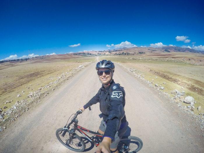 No meio do nada... a caminho de Moray, no Peru