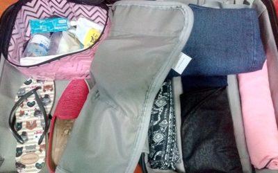 Como arrumar mala de mão para avião