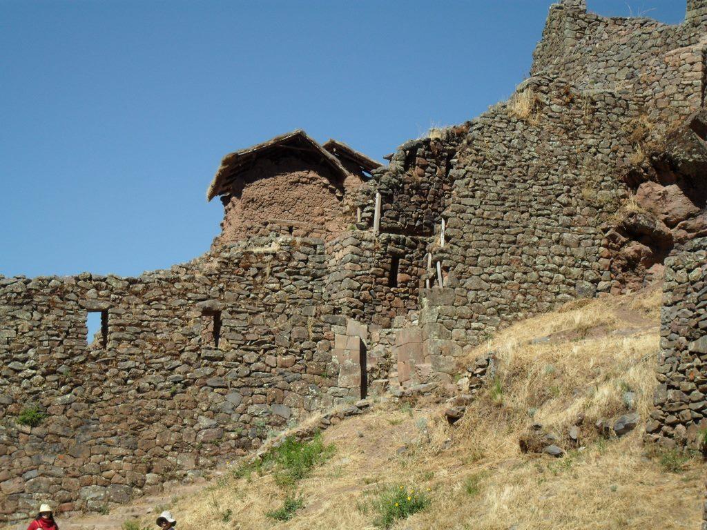 As ruinas de Pisac, em Cusco