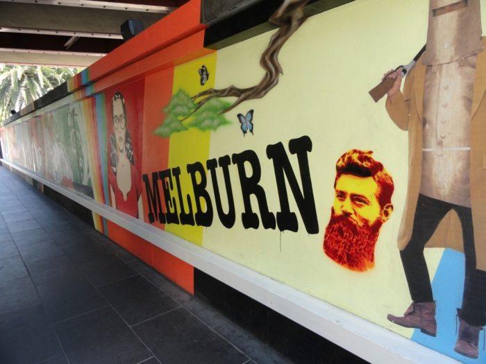Arte de rua em Melbourne