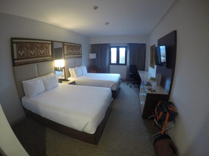 Quarto do Hilton Garden Inn - Cusco