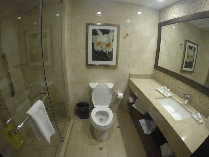 Banheiro do Hilton Garden Inn - Cusco