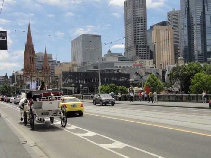 Os contrastes de Melbourne