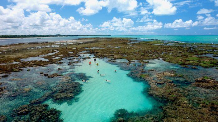 Piscinas Naturais do Pratagy - Alagoas