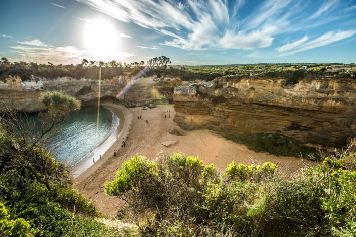 The Loch Ard Gorge, Great Ocean Road - Credit Tourism Australia and Time Out Australia