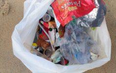 Lixo na Praia, não podemos aceitar!