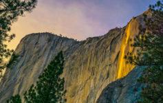 Yosemite Firefall - Cachoeira de Lava na Califórnia