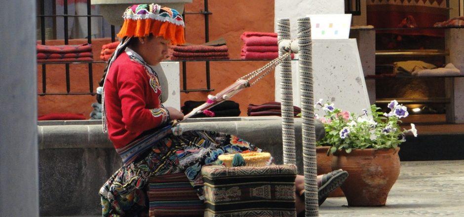 Cena clássica de Arequipa, no Peru