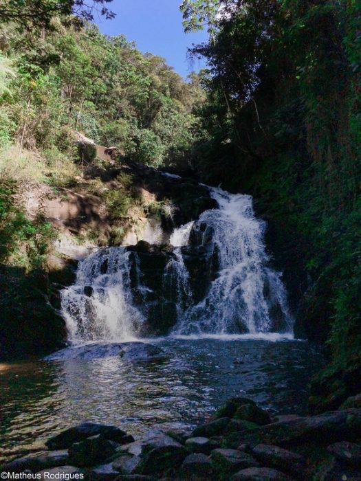 Cachoeira Deus me Livre, em Aiuruoca