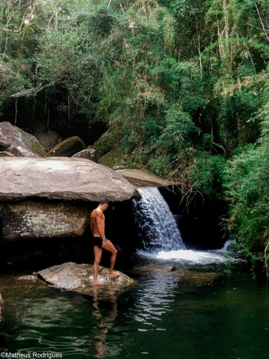Cachoeira das Fadas, em Aiuruoca