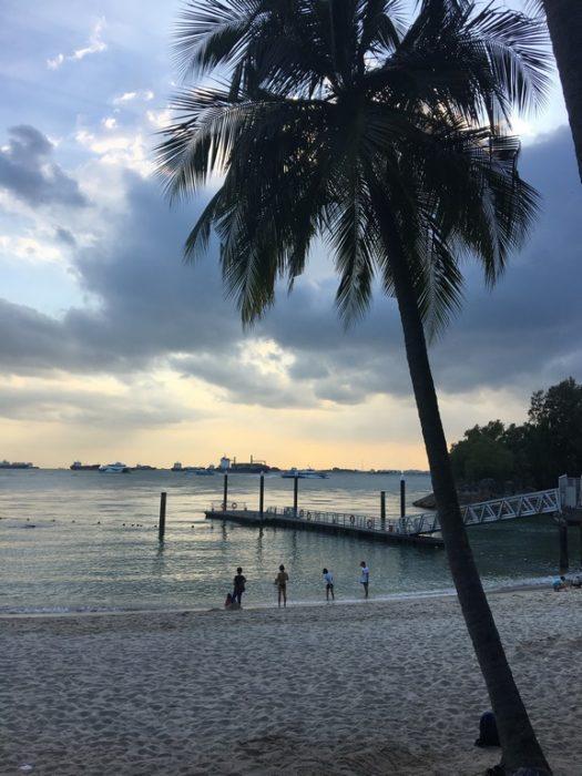 Singapura - Ilha artificial em Sentosa