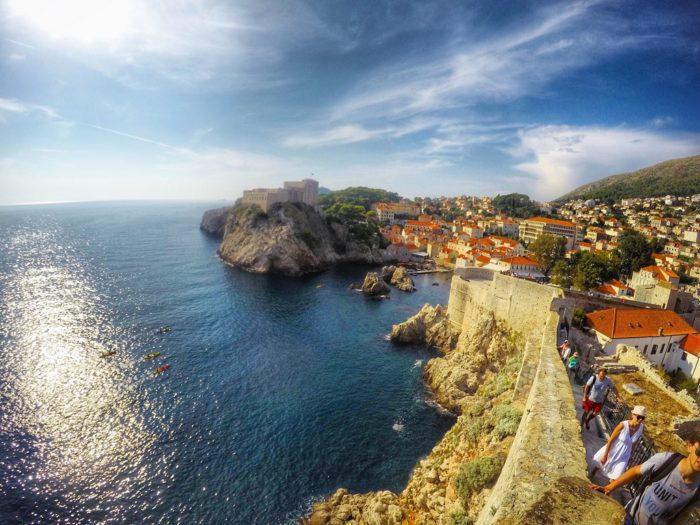 Dubrovnik City Wall na Croácia