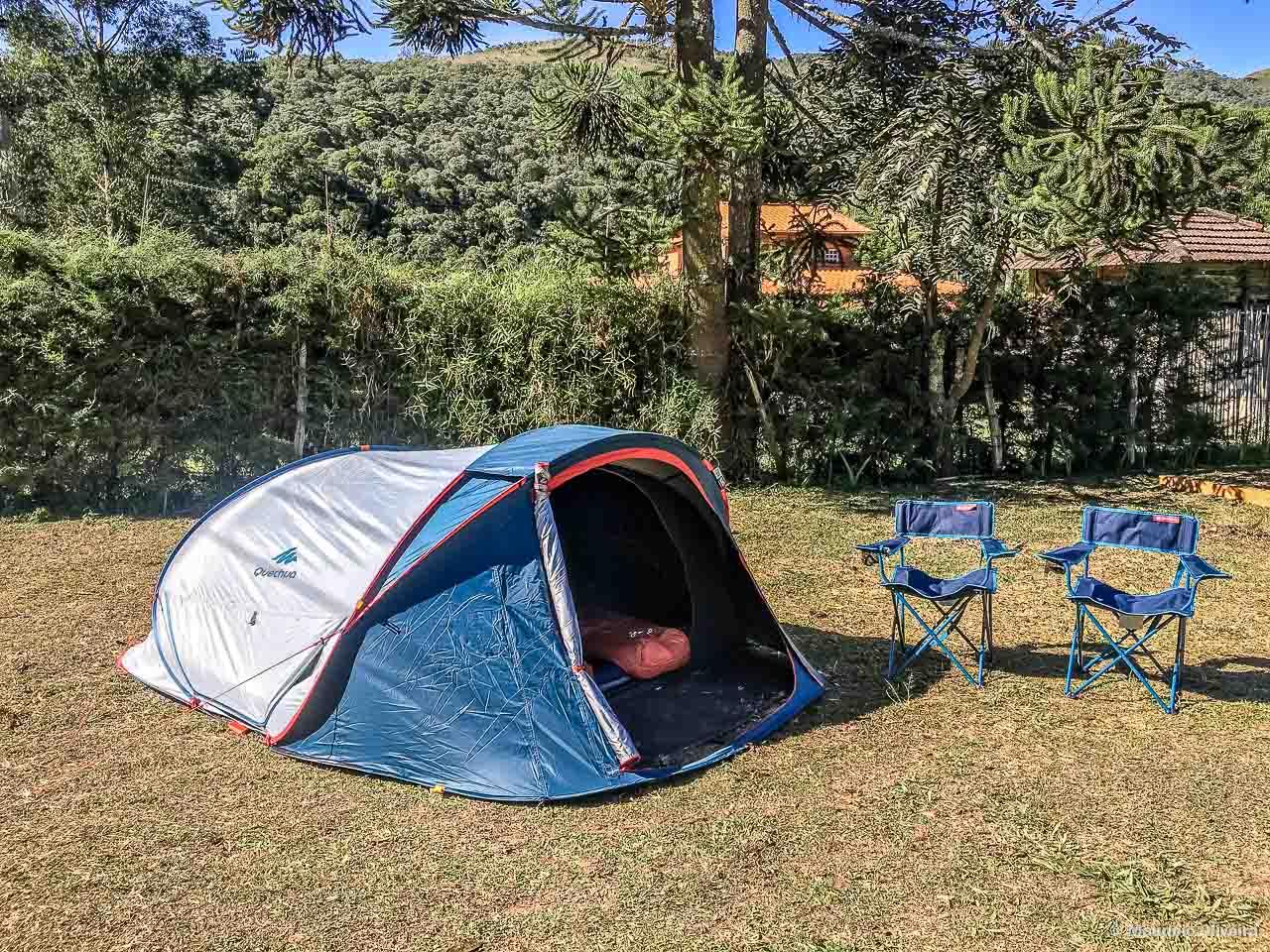 5cd64ea04 Equipamentos de Camping para quem vai acampar de carro - Trilhas e ...