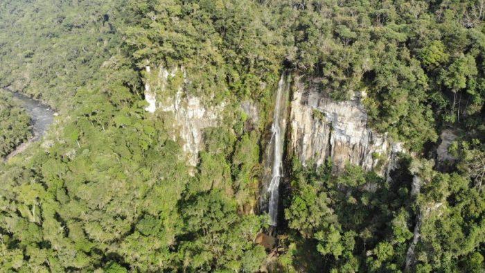Cachoeira Salto Sete em Prudentópolis