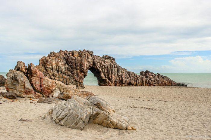 Rota das Emoções - Pedra Furada em Jericoacoara - Ceará