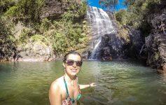 Uma das 30 cachoeiras da Chapada Imperial