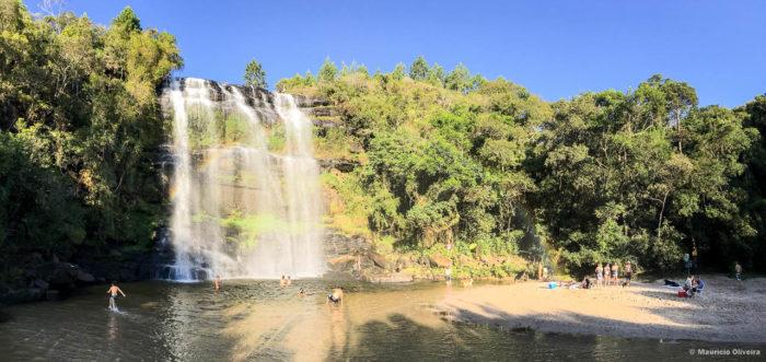 Cachoeira da Mariquinha em Ponta Grossa - Paraná