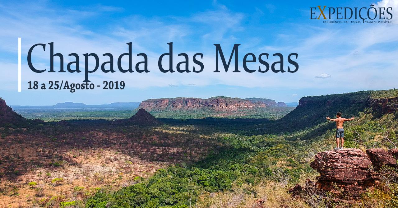 Chapada das Mesas - 18 a 25 de Agosto de 2019