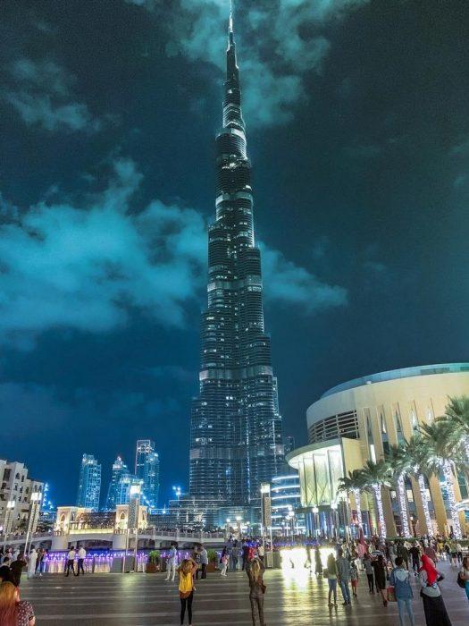 Burj Khalifa é o prédio mais alto do mundo - Fonte: Pexels